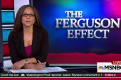 Facts dispute 'Ferguson effect' on crime rate