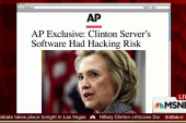 Anonymous hacker scanned Clinton server: AP