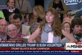 Woman who grilled Trump is Bush volunteer
