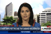 Was Rep. Gabbard disinvited from debate?
