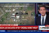 'Credible bomb threat' at Oregon lab
