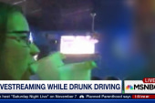 Livestreaming while drunk driving