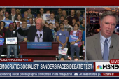 Sanders Faces Debate Test