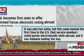 Alabama first to try electronic voting