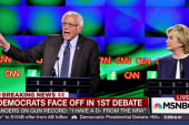 Clinton and Sanders take spotlight in debate