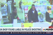 Gun shop found liable in police shooting
