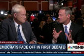 O'Malley reviews debate performance