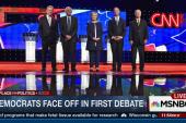 Democratic debate: Ranking winners by issue