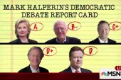 Mark Halperin grades the Dem debate