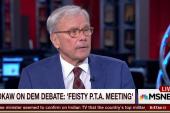 Tom Brokaw reviews the debates