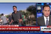 Updates on man shot in Jerusalem