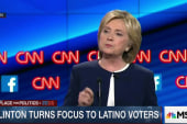 Clinton turns focus to Latino voters