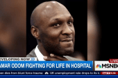 Lamar Odom fighting for his life