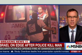 Israel on edge after police kill man