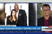 Lamar Odom continues to fight for his life