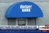 Jury: Gun shop liable for officers' injuries