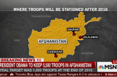 Why Obama will keep troops in Afghanistan