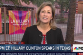Clinton places focus on Latino voters