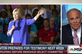 Clinton prepares for testimony next week