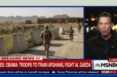 Richard Engel on Afghan Army's difficulties