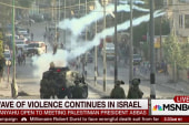 Wave of violence continues in Israel