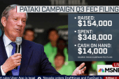 Pataki on his 'grassroots' campaign