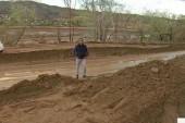 Mudslides damage part of California
