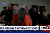 Parents charged in son's killing at church