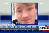 Family sues over son's traffic stop death