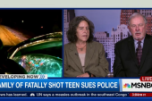 Family of fatally shot teen sues police