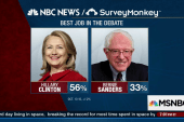 NBC Survey: Clinton debate winner