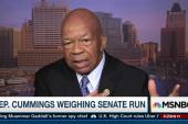Rep. Cummings weighing US Senate run