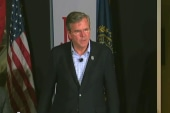 Jeb Bush down in polls, up in endorsements