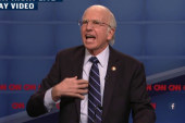 Sanders gets the SNL treatment