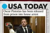 Pistorius leaves prison, under house arrest