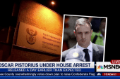 Oscar Pistorius under house arrest