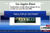 Saudi Prince avoids felony charges