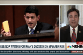 Ryan's Speaker decision expected this week