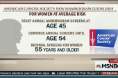 American Cancer Society issues new guidelines