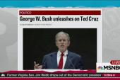 George W. Bush talks trash about Ted Cruz