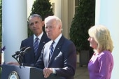 Biden will work alongside Democratic nominee