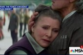 Carrie Fisher defies Hollywood ageism