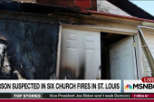Arsonist attacks black churches in St. Louis
