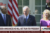 'The world moves on' from Biden's decision