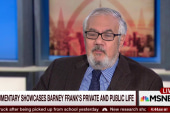The time Barney Frank 'came out of the room'