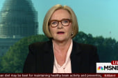 McCaskill: Clinton will show today she is...