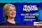 Good time for a Hillary Clinton interview...