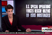 US soldier dies in ISIS prison rescue in Iraq