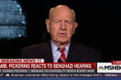 Amb. Thomas Pickering reacts to Benghazi...