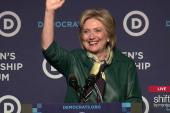 Hillary Clinton: 'When women lead,...